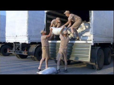 Interrogations autour d'un convoi russe à destination de l'Ukraine