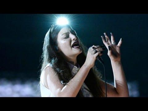 Lorde Grammy Awards 2014 Performance