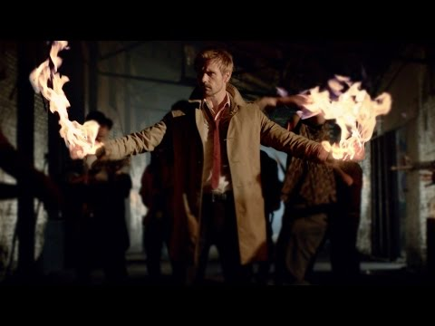 Constantine - Pilot Screening Reaction - Comic Con 2014