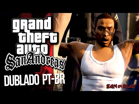 GTA San Andreas Recriado no GTA V: DUBLADO PT-BR [MACHINIMA]