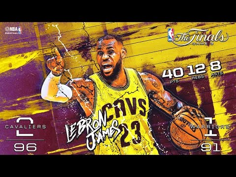 2015 NBA Finals: Game 3 Minimovie
