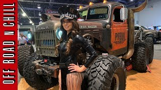 Sema 2018 Day 4 Bestop Half Doors, DV8 Tire Carrier, Spod and more !!!