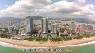 A look at Nha Trang beach in front of the InterContinental, Nha Trang, Vietnam