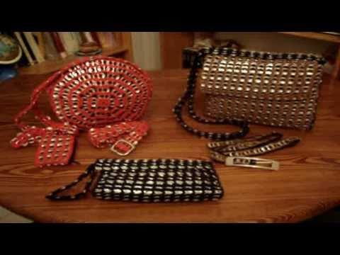 Bolsos de anillas de refresco
