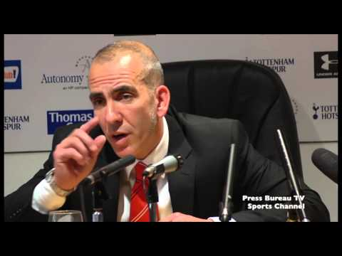 Paolo Di Canio reaction Tottenham vs Sunderland