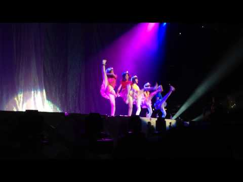 Crayon Pop Opening Act - Los Angeles Staples Center 2014.07.22