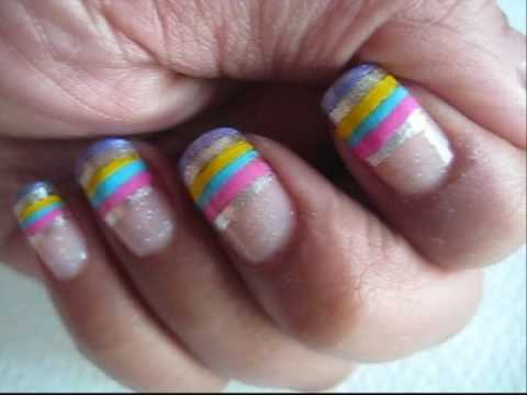 Summer Nails Tutorial- Request Video