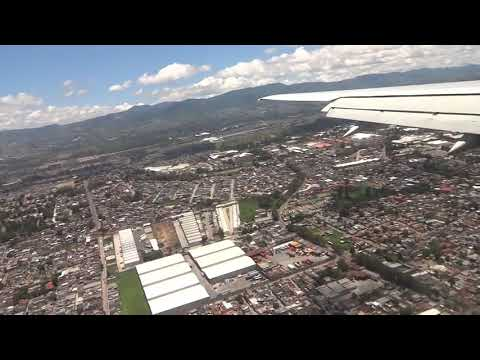 Delta Flight 451 Landing In La Aurora International Airport, Guatemala City