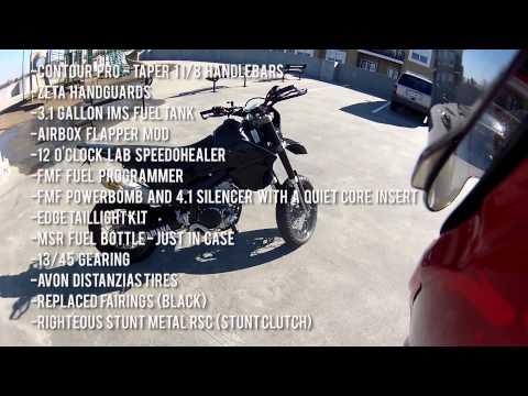 WR250X Walkaround + Mod List