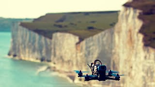 Cliff edge warning⚠️🌊and sea skimming - TBS Source One ~ FPV Freestyle