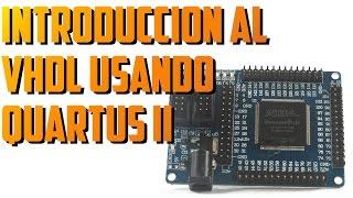 Introducción al VHDL usando Quartus II de Intel (Altera)