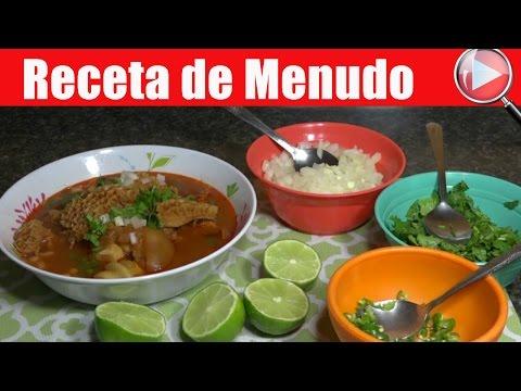 Receta de Menudo / Comida Mexicana - Recetas en Casayfamiliatv