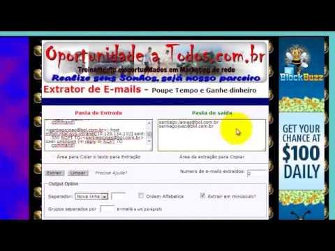 Listas de E mails Gratuitas video 3