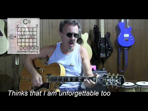 Unforgettable by Nat King Cole Cover with Lyrics...