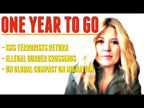 1 year to go Trudeau - Im talking ISIS terrorist, illegal border crossings  UN Global Compact