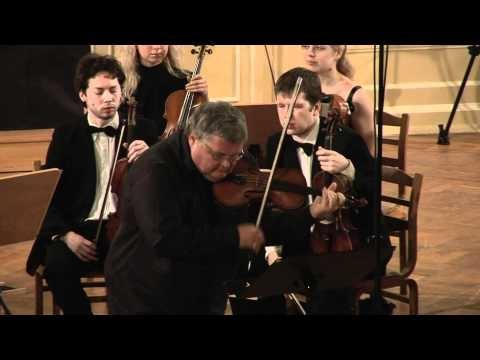 Бах Иоганн Себастьян - Концерт для скрипки с оркестром No1