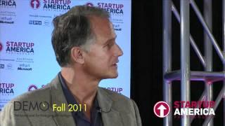 Dan'l Lewin, Microsoft (@microsoft) at the Startup America HD Social Lounge, DEMO Fall 2011