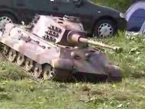 1/4 King Tiger Tank