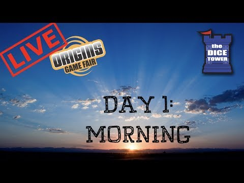 Origins Summer Preview 2017 - Day 1 Morning