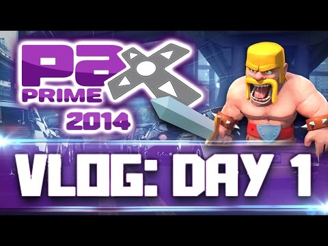 PAX 2014 VLOG [FRIDAY] Technology Overload!