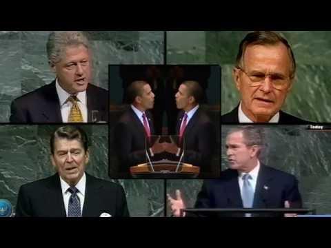 Presidents' U.N.Speak [Teaser] (remixed Obama Bush*2 Clinton Reagan JFK Eisenhower @United Nations)