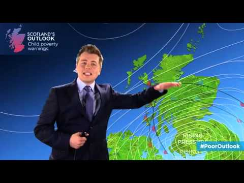 Yes Scotland Scottish weather forecaster loses it live on air