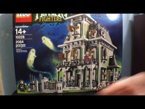 Lego 10228 Monster Fighters Haunted House Set Review