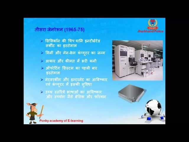 Generation and Types of Computer