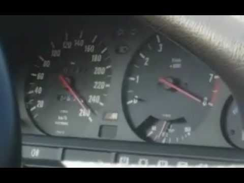 BMW E30 M3 0-260 km/h
