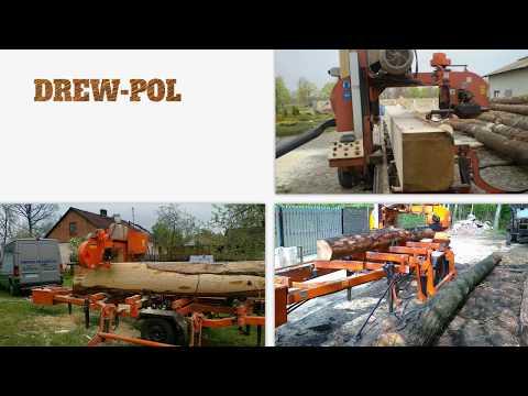 Przecieranie Drewna Usługi Tartaczne Sprzedaż Drewna Dalików Drew-Pol