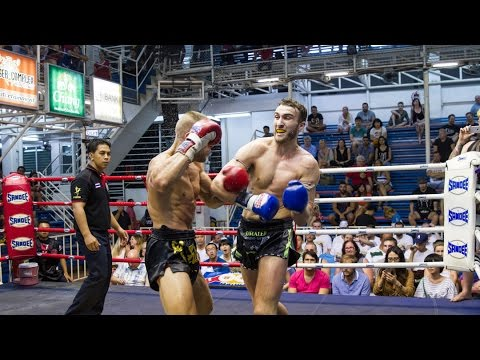 Cian Hogan Sumalee VS Phil AKA Thailand: Bangla Boxing Stadium, 7th Feb 2016