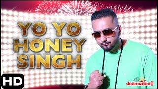 Yo Yo Honey Singh Singing | Hindustan Times Most Stylish Awards, Delhi | 2016
