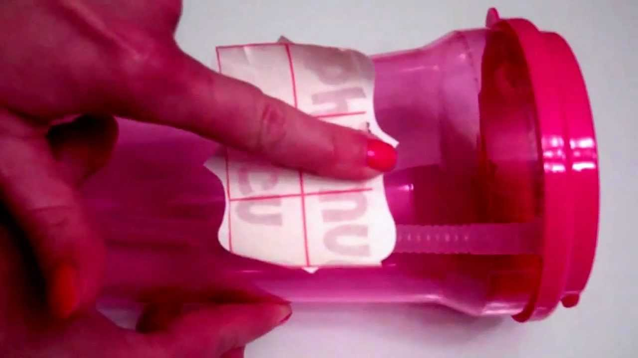 Applying Vinyl Phi Mu Decals to Cup - YouTube