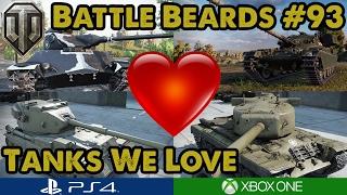 WoT - TANKS WE LOVE! - Battle Beards #93 (Xbox One)