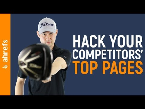 How to Find Pages That Send Your Competitors Organic Search Traffic