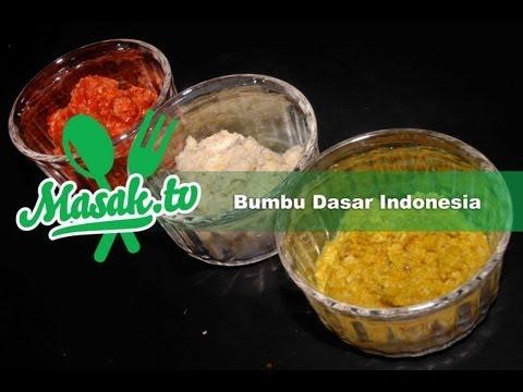 Bumbu dasar Indonesia | Resep #003
