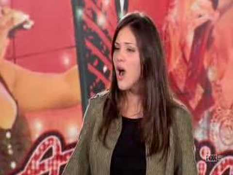 American Idol Season 5 - Katharine McPhee audition