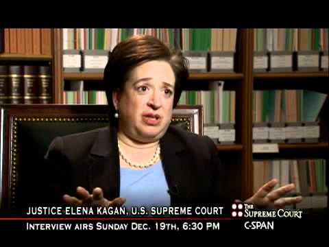 Justice Kagan on Using a Kindle to Read Briefs