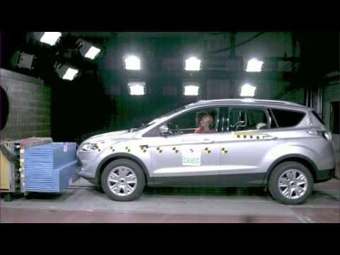 Ford Kuga. Краш-тест 2012