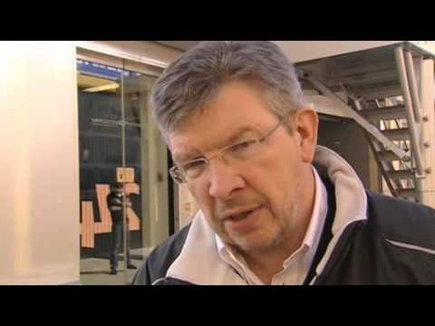 Interview with Ross Brawn Feb 3 2010 F1 testing