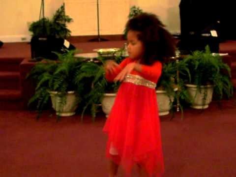 Prophetic Praise Dance of a 4 year old ! Let your Anointing Fall!!!!