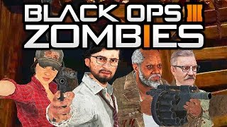 """Black Ops 3 Zombies"" - NEW Characters?! Tranzit Crew RETURNING?! (Call of Duty Zombies)"