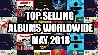 Top Selling Albums Worldwide of May 2018