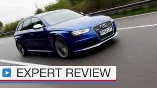Audi RS4 Avant estate expert car review