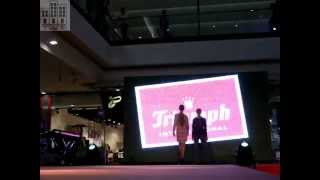 Pokaz bielizny Triumph International Lingerie - Fashion Weekend Galeria Echo Kielce 2012