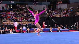 Katelyn Ohashi - Floor Exercise - 2013 AT&T American Cup