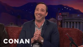 """""""Game Of Thrones"""" Is Too Intense For Tony Hale - CONAN on TBS"""