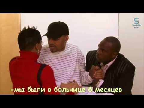 Встреча слепого боксера с соперником после которого он стал инвалидом