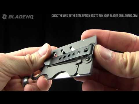 Creditor II Money Clip & Credit Card Knife
