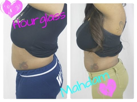 How To Lose Belly Fat     24 Hour Challenge     Hourglass Mahdam Corsets